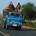 Truck carrying workers in Kalasin