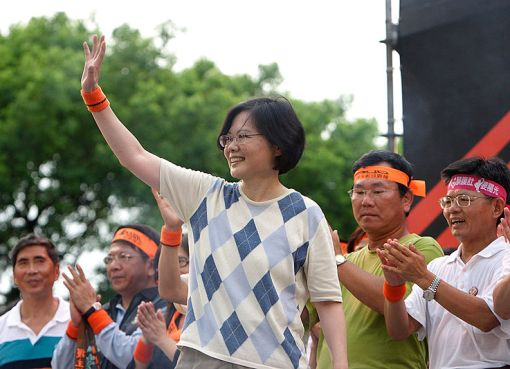 Tsai Ing-wen the President of Taiwan