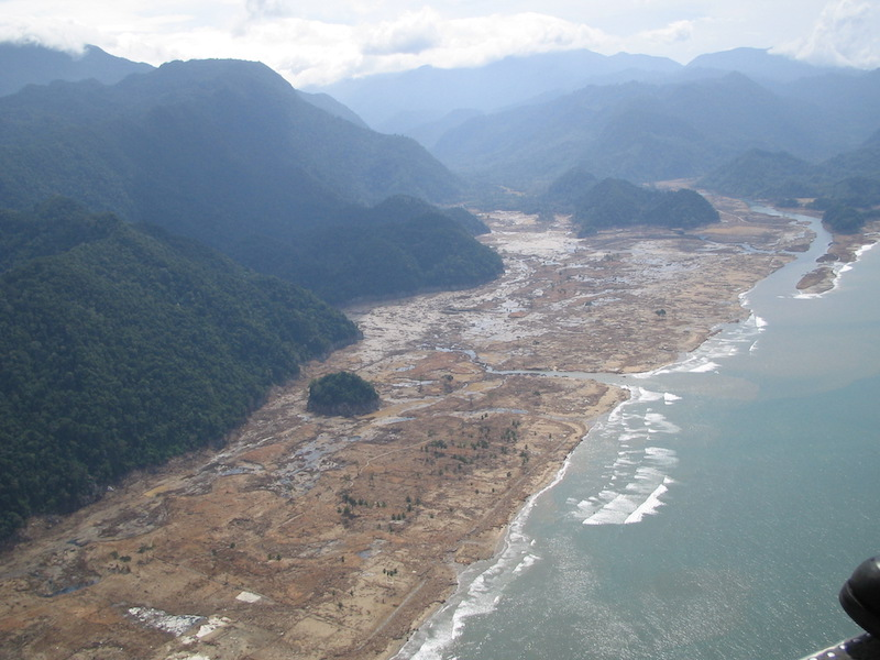 Tsunami 2004 aftermath. Aceh, Indonesia, 2005
