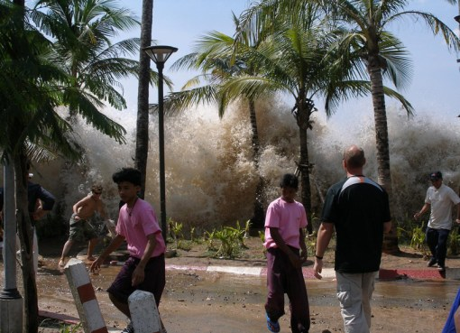 2004 tsunami in Ao Nang, Krabi Province