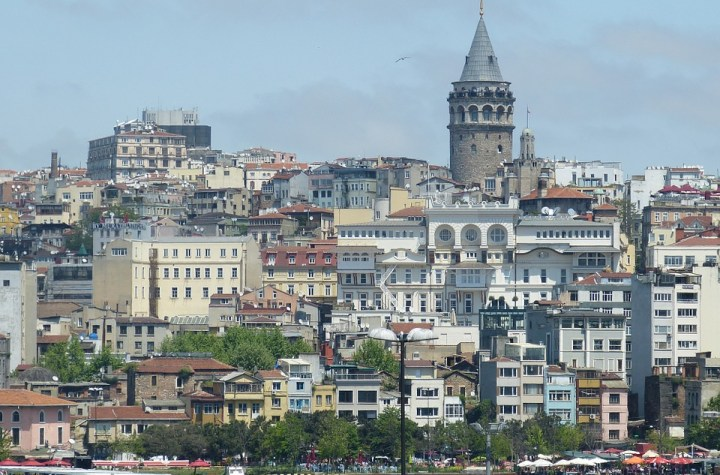View of Galata in Istanbul, Turkey