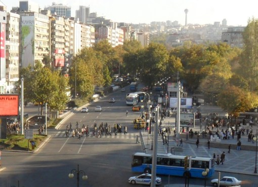 Site of 13 March 2016 Ankara Bombing