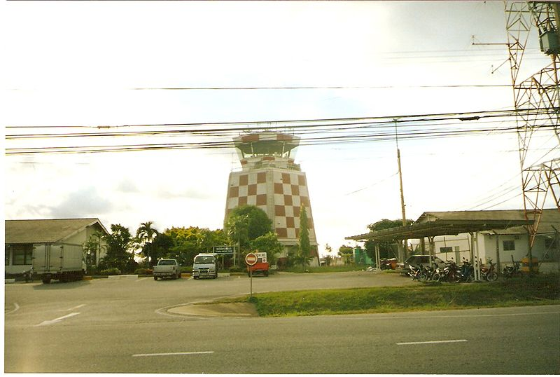 U-Tapao International Airport ATC Tower