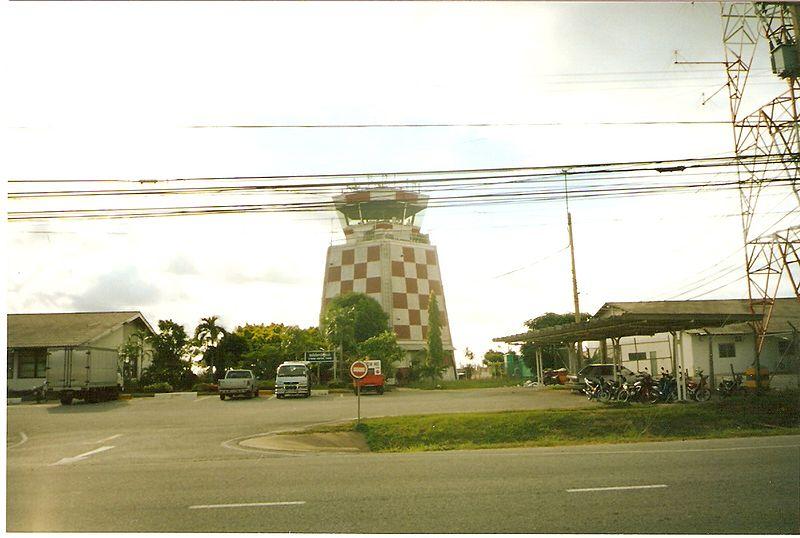 U-Tapao International Airport ATC Tower