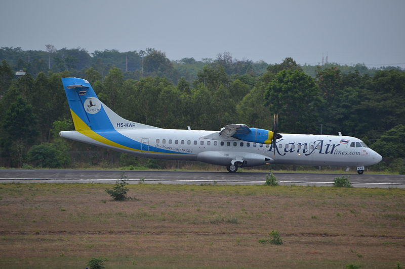 KanAir Lines aircraft at U-Tapao Airport