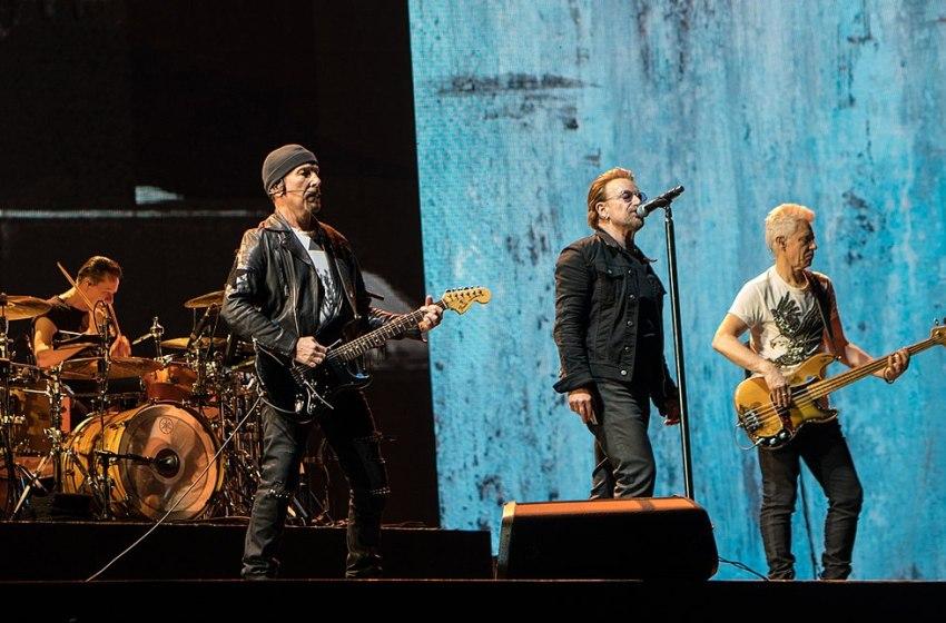 U2 on Joshua Tree Tour 2017 in Brussels