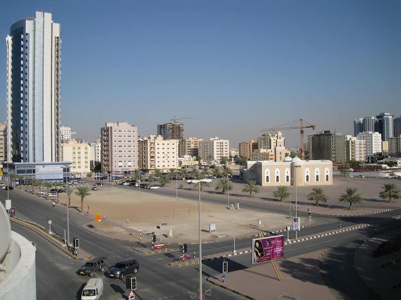 Shaikh Rashed Bin Hameed Mosque in Ajman, United Arab Emirates (UAE)