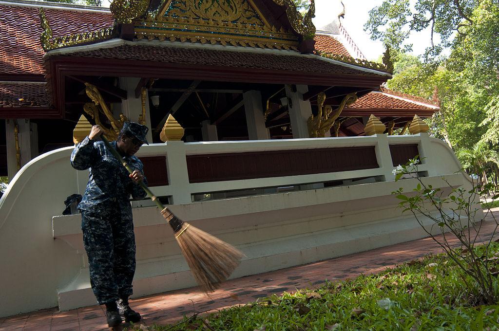 Wat Jitapawan College temple in Banglamung, Pattaya