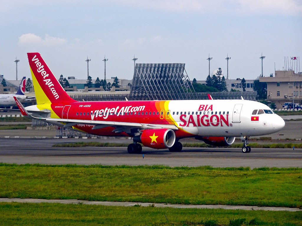VietJet Air Airbus A320in Taiwan