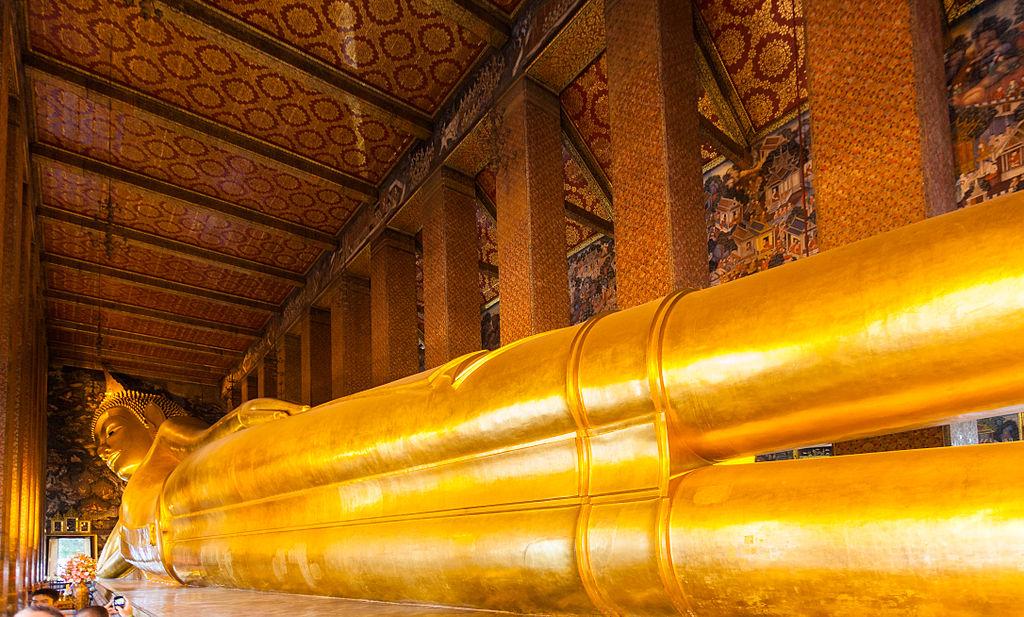 Reclining Buddha statue in Wat Pho, Bangkok