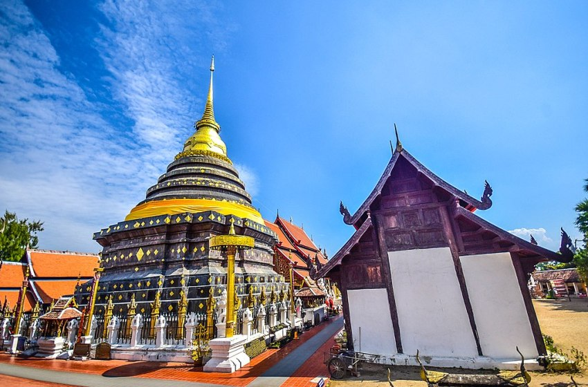 Wat Phra That Lampang Luang in Lampang