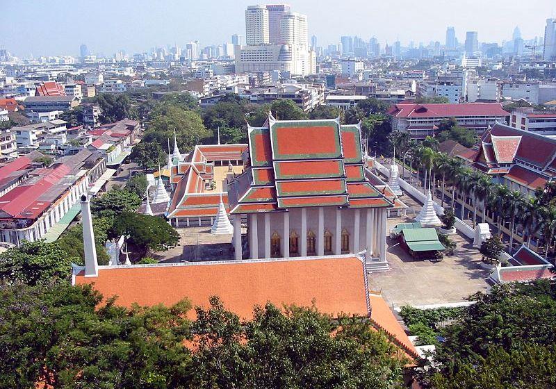 Wat Saket or Temple of the Golden Mount