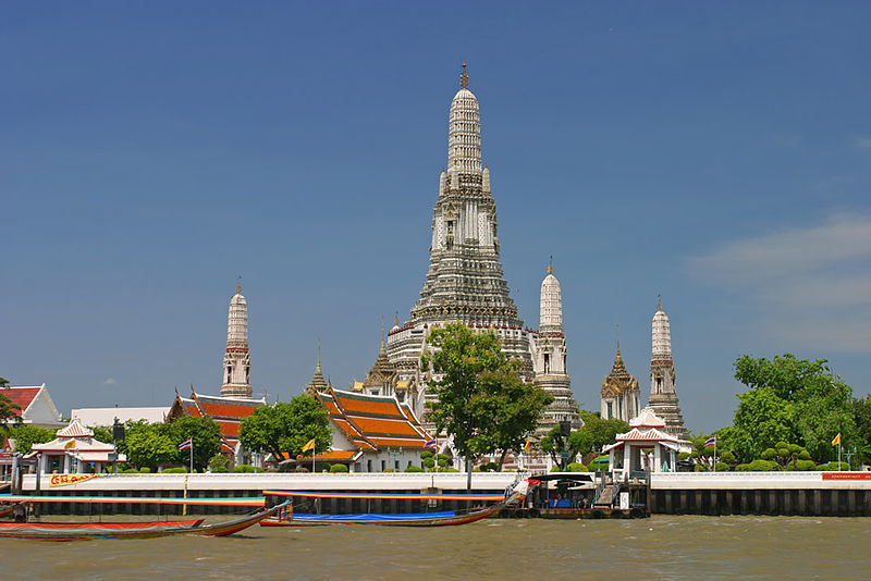 Wat Arun seen from the Chao Phraya River