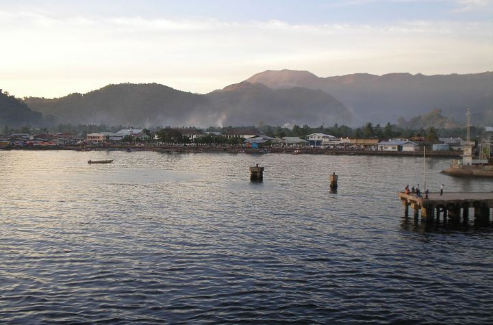 Yapen Island in Papua, Indonesia