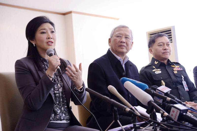 Yingluck Shinawatra and Niwatthamrong