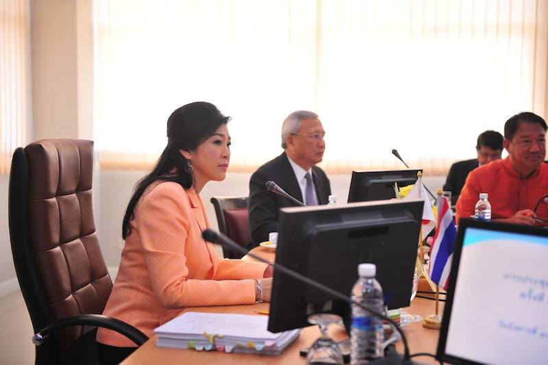 Coup Leader Willing To Join Government Of Yingluck Shinawatra