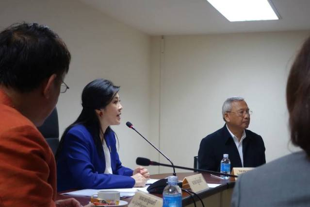 Pheu Thai Party submits suggestions on reconciliation