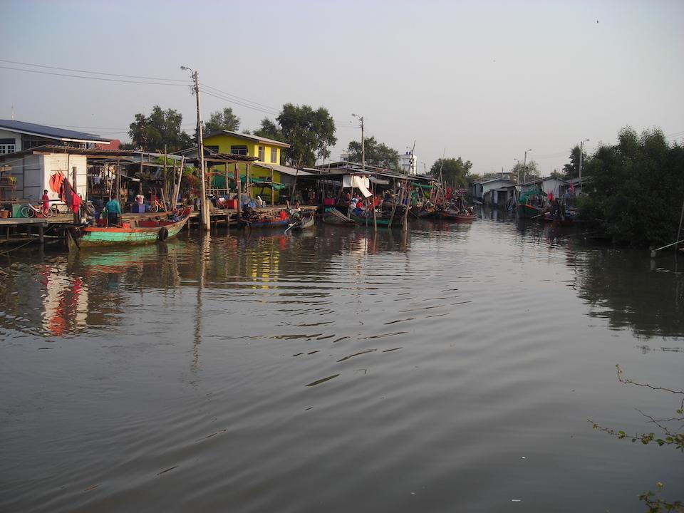 A Klong (canal) in Bang Pu Mai, Samut Prakan