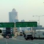 Expressway in central Bangkok