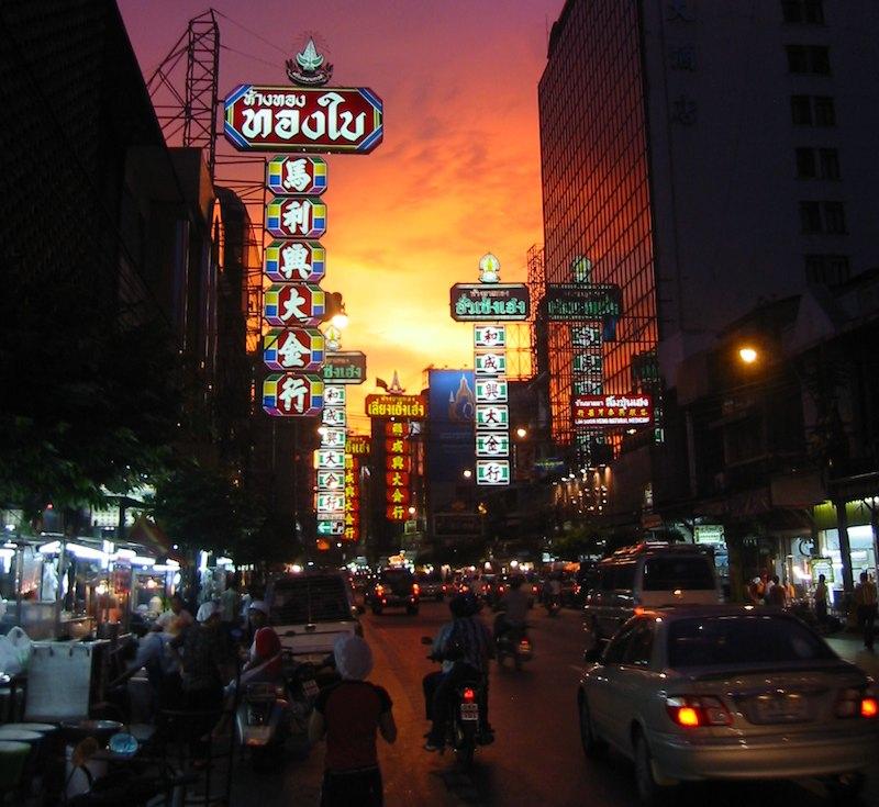 Chinatown in Bangkok