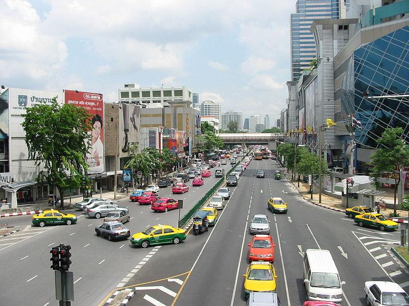 Thanon Phaya Thai, Bangkok