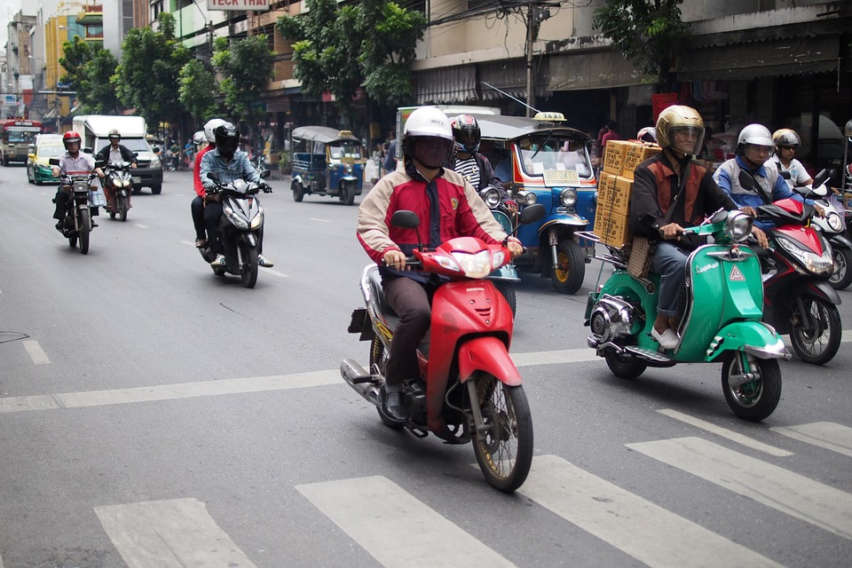 Motorcycles in Thailand