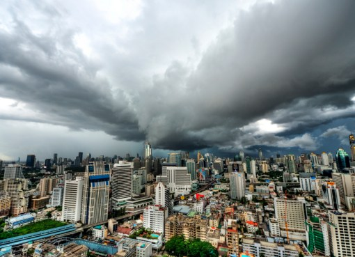 Clouds over Bangkok