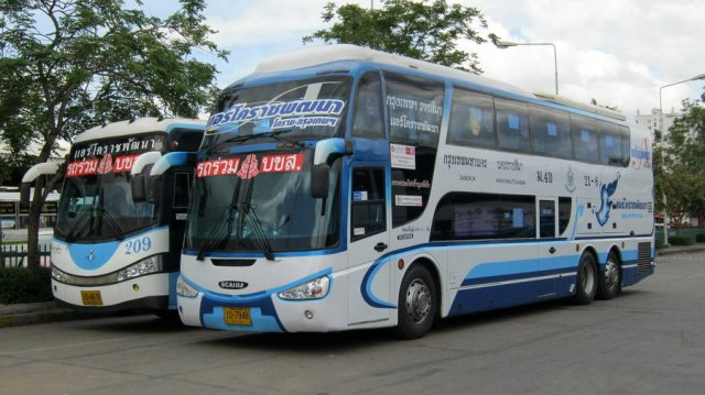 Female killed, 24 passengers injured in Korat bus crash