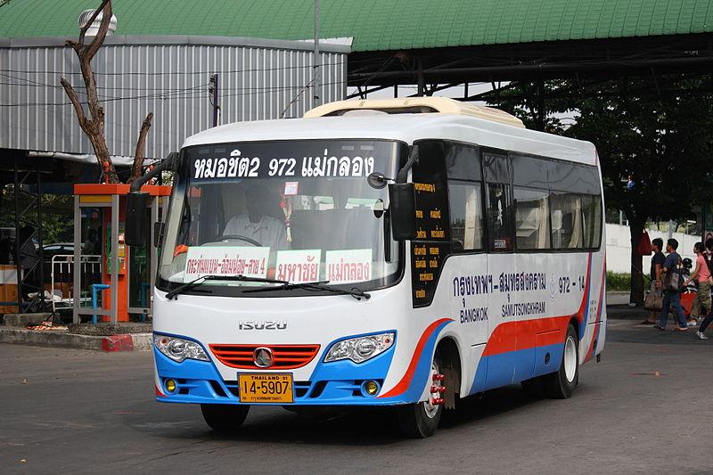 Cherdchai-Isuzu mini bus in Bangkok