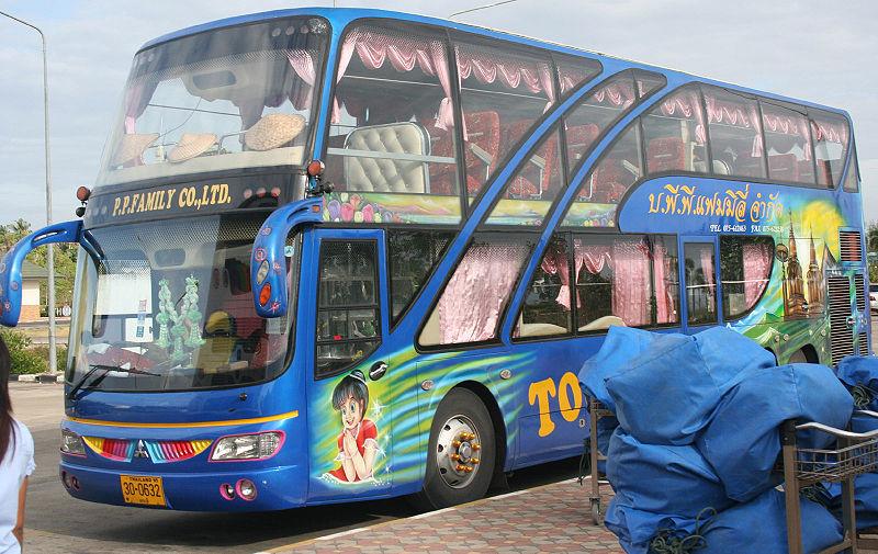 Andaman Coast-Bangkok night bus