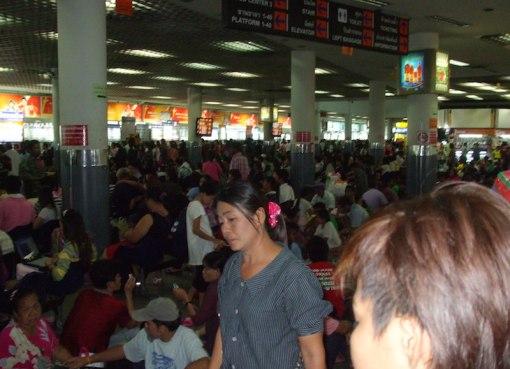 Bangkok Bus Mor chit 2 Northeastern Bus Terminal