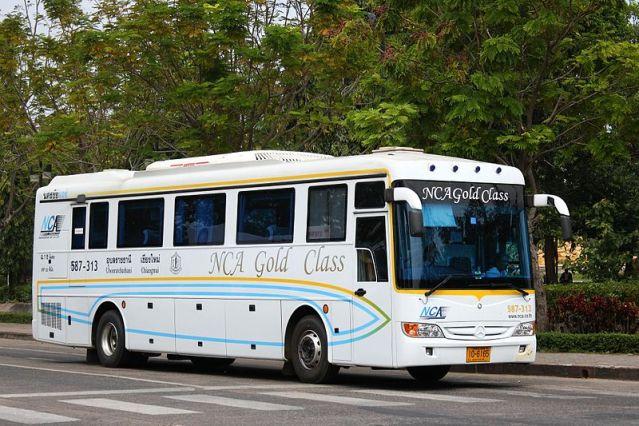 1 killed, 28 hurt in Khon Kaen when driver flips bus reaching for phone