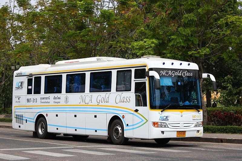 NCA bus in Ubon Ratchathani