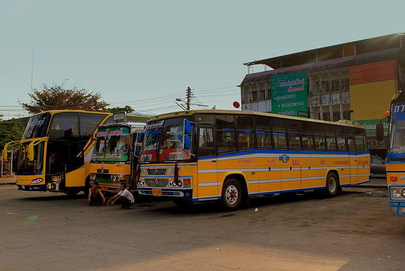 Kanchanaburi Bus station