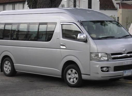 Toyota Hiace Minivan in Thailand