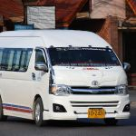 Toyota Commuter minivan in Hat Yai