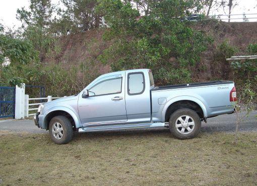 Pickup truck in Thailand