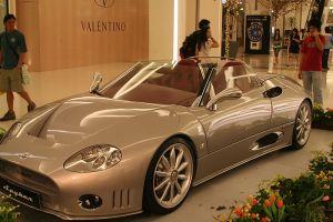 Luxury car at Siam Paragon, Bangkok