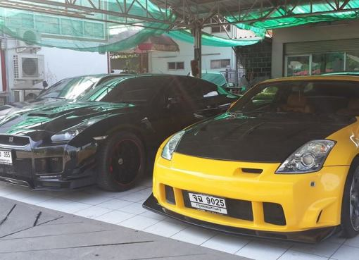 Luxury cars Thailand