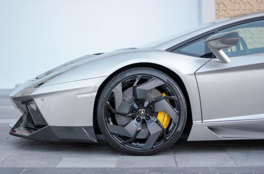 Luxury cars Lamborghini Aventador