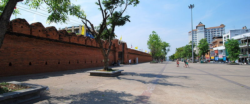 The Tha Phae Gate in Chiang Mai