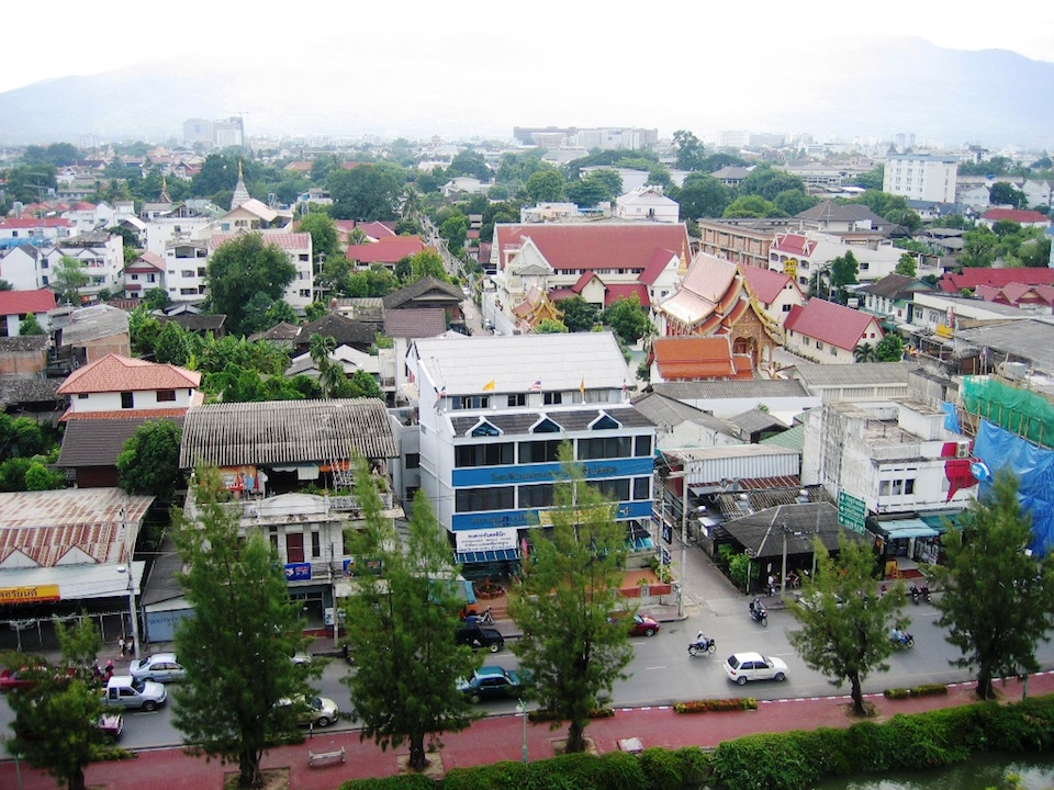 View of Chiang Mai Old Town