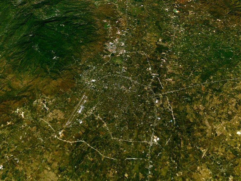 Aerial view of Chiang Mai