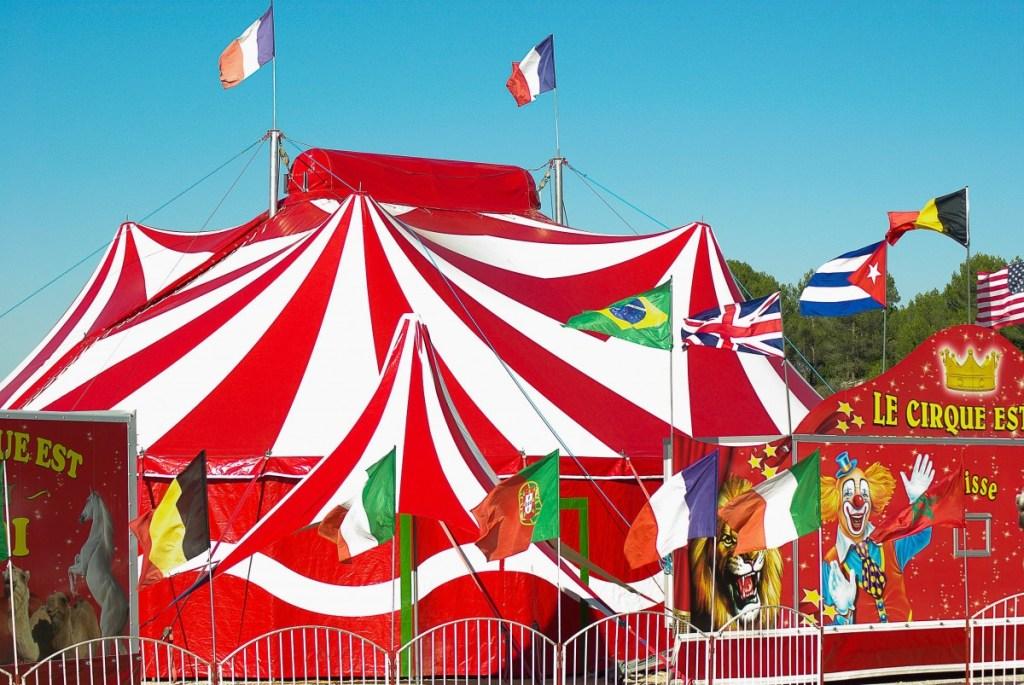 A circus tent