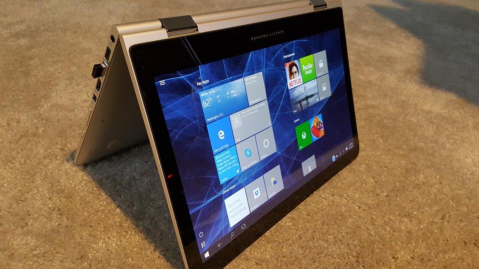 Laptop using Windos 10 OS