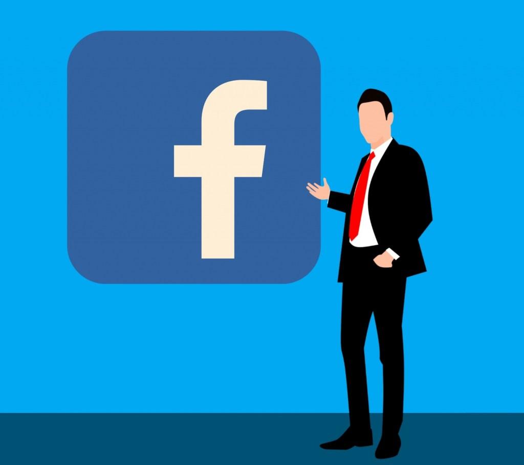 Facebook Icon at Facebook event