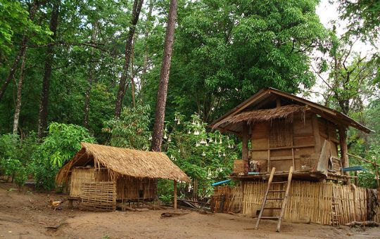 Village in the north of Thailand