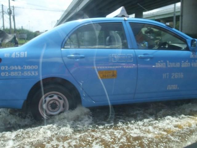 Bangkok battered by heavy rain