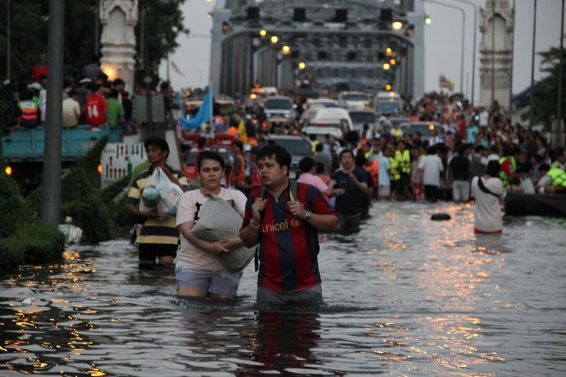 Thailand Grapples With Worst Flooding in 50 Years