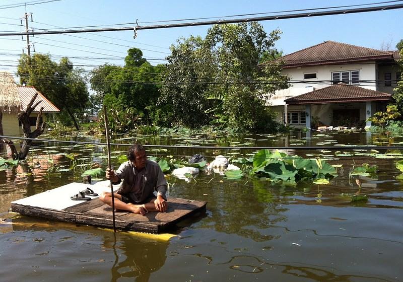 Floods across Thailand